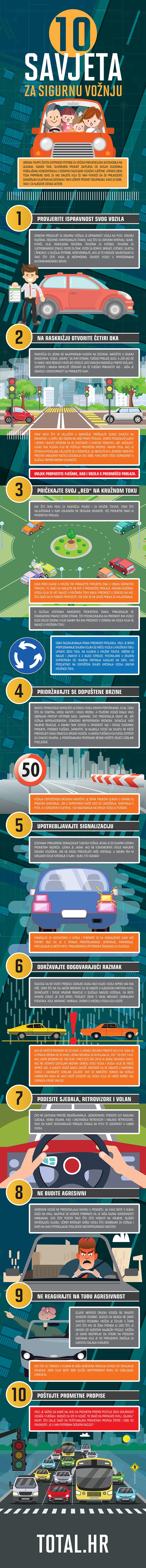 10 savjeta za sigurnu vožnju