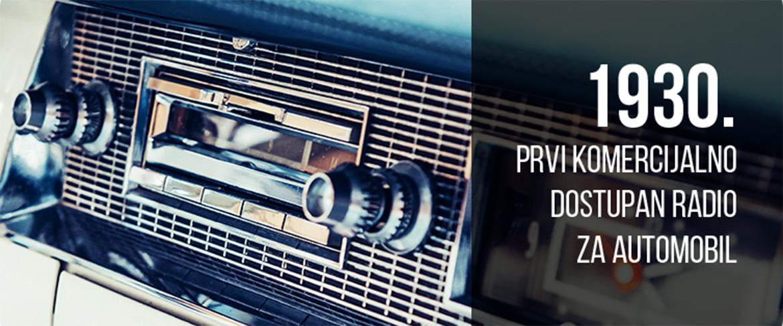radio za automobil