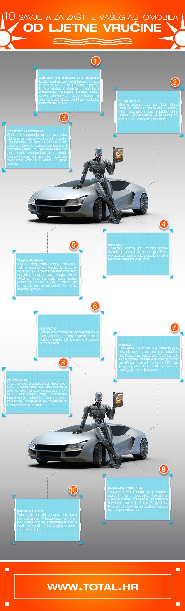 10 savjeta za zaštitu Vašeg automobila od ljetne vrućine