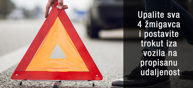 Kako se ponašati u slučaju prometne nesreće